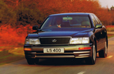 Lexus LS400 - In Green